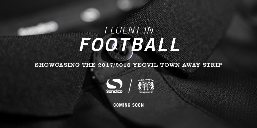 A small snippet of Yeovil Town's 2017-18 away shirt