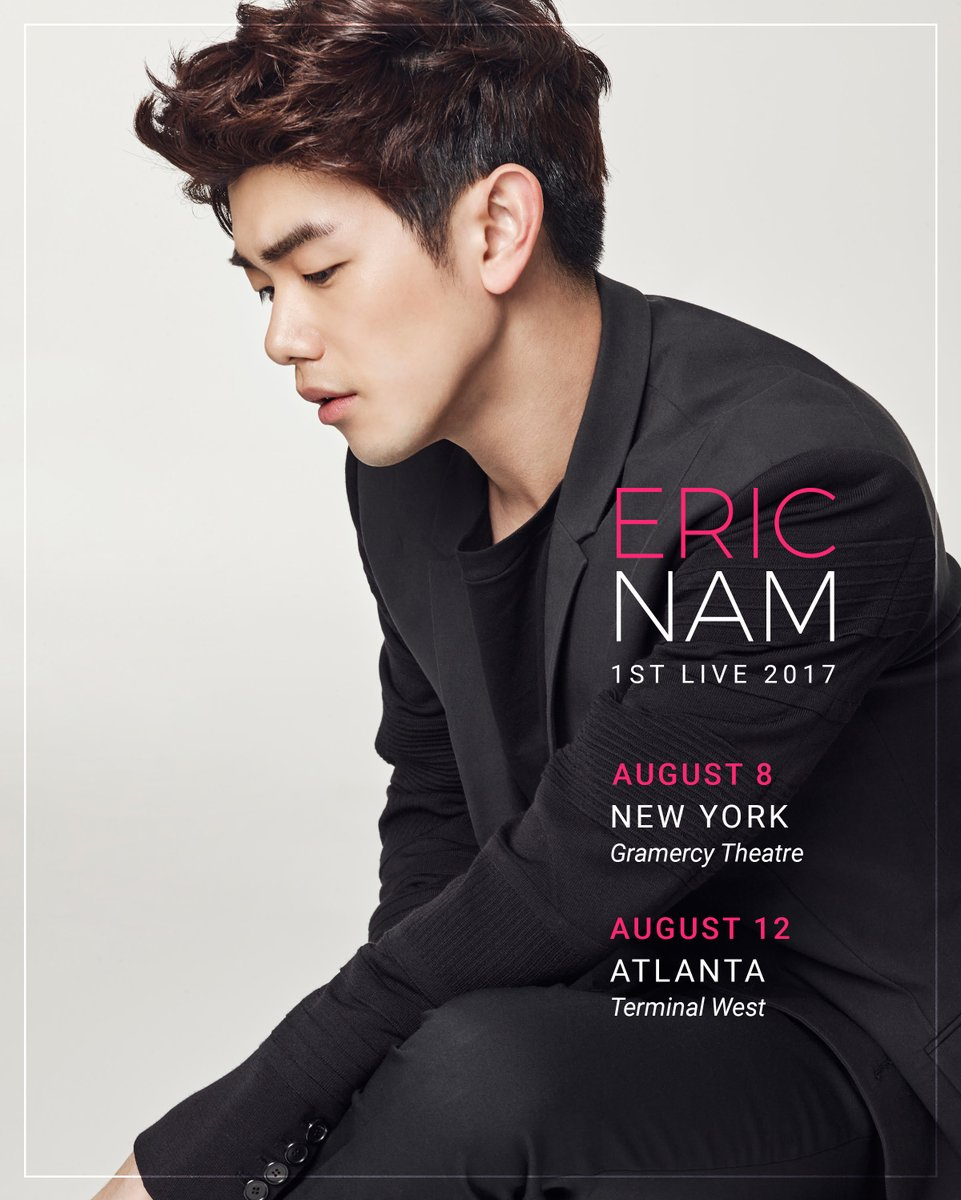 eric nam on twitter vip tickets 9900 early entry eric nam on twitter vip tickets 9900 early entry exclusive merchandise meet greet and photo ga tickets 2500 atl 3000 nyc m4hsunfo