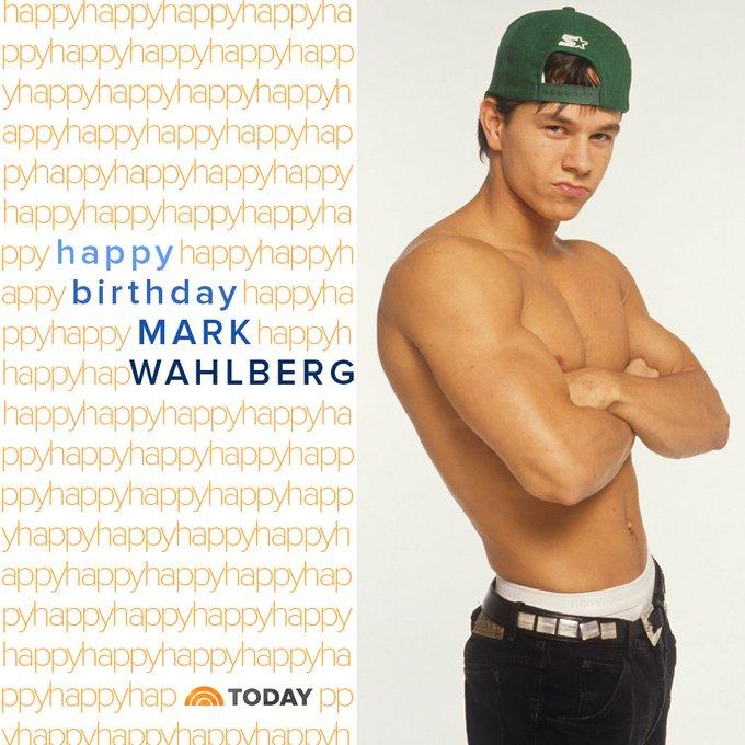 Happy birthday, mark_wahlberg!  via TODAYshow