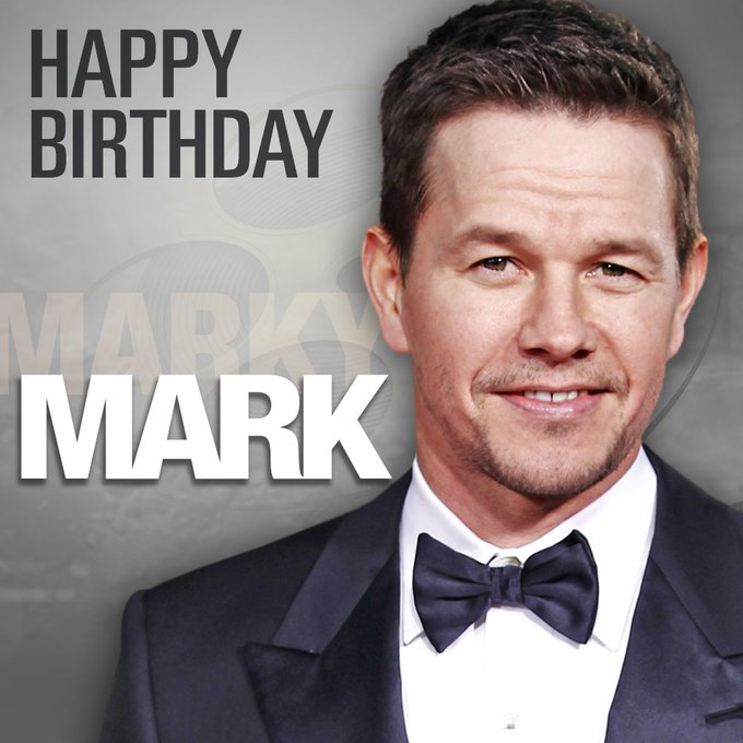 Happy birthday to actor and former rapper Mark Wahlberg. He turns 46 today!