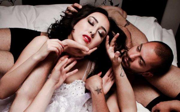 Sex stillinger threesomes