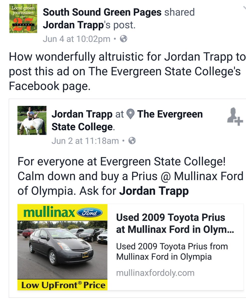 Mullinax Ford Olympia >> Emmett O Connell On Twitter Keep It Classy Mullinax Ford Of