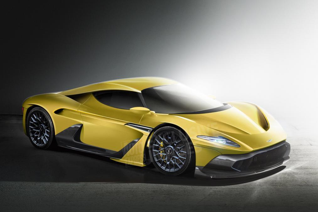 New Aston Martin Super Car