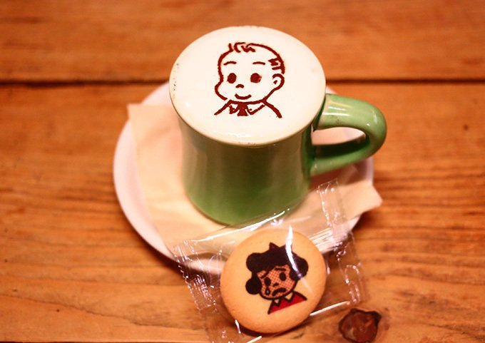 オサムグッズ×ヴィレッジヴァンガードダイナー、限定カフェが下北沢と原宿に10日までオープン -