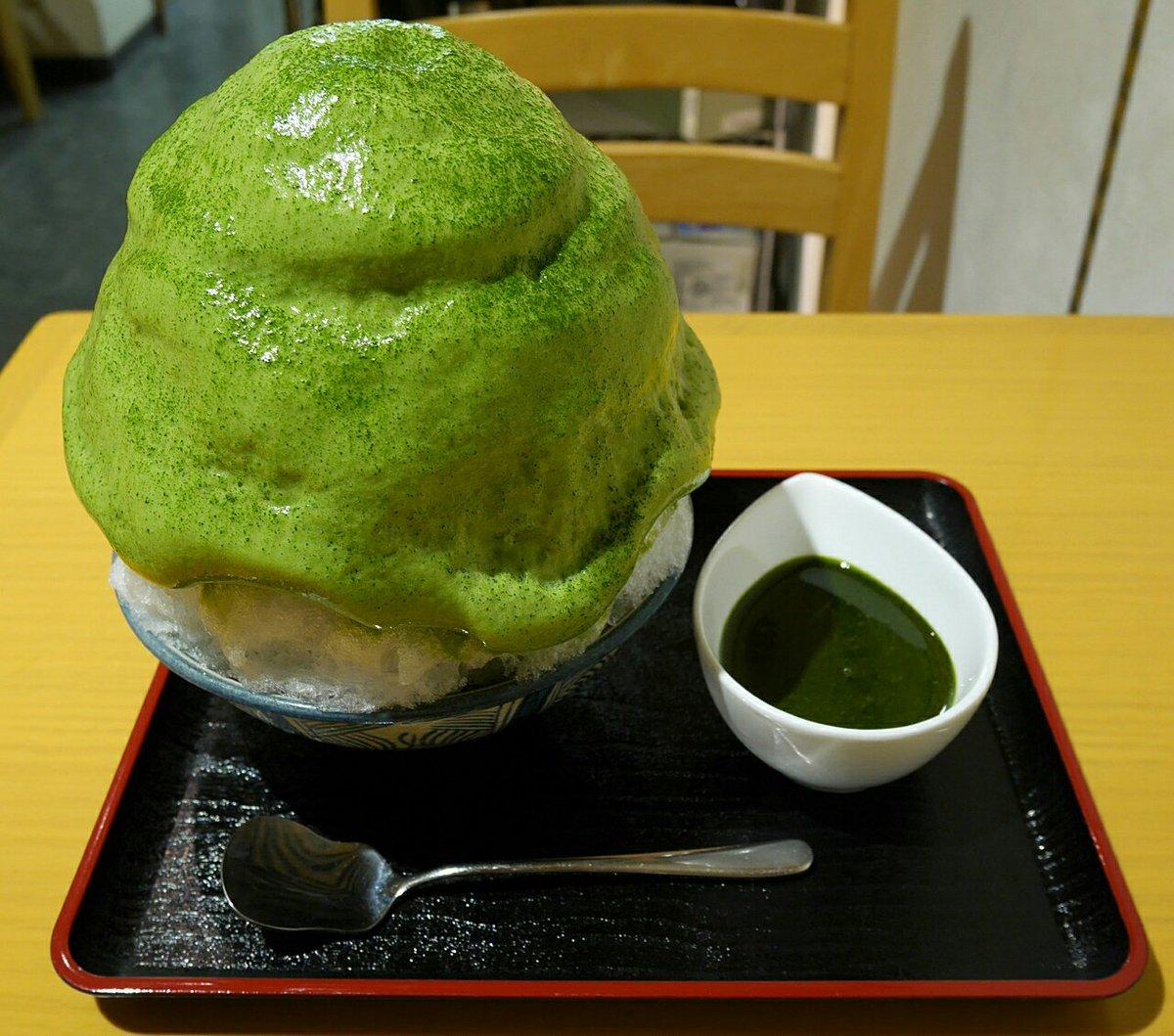 下北沢駅から徒歩2分。【しもきた茶苑大山】全国で13名しかいない茶師十段の認定者が2名いる日本茶専門店。1年中かき氷が食べられる。 pic.twitter.com/2TTAOc9Vkc
