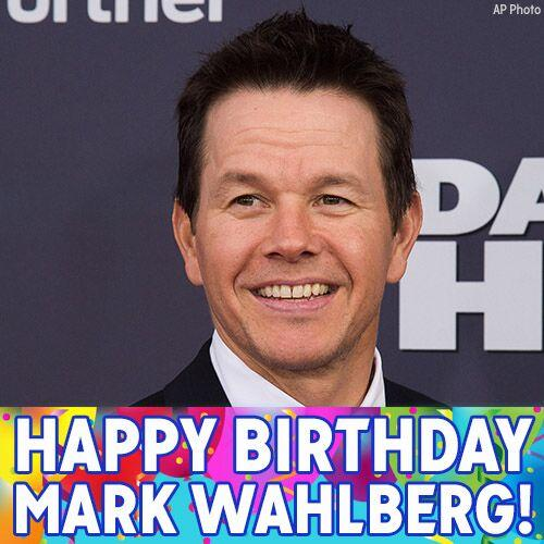 """Happy Birthday, Mark Wahlberg! We hope the \""""Invincible\"""" star has a great day today."""