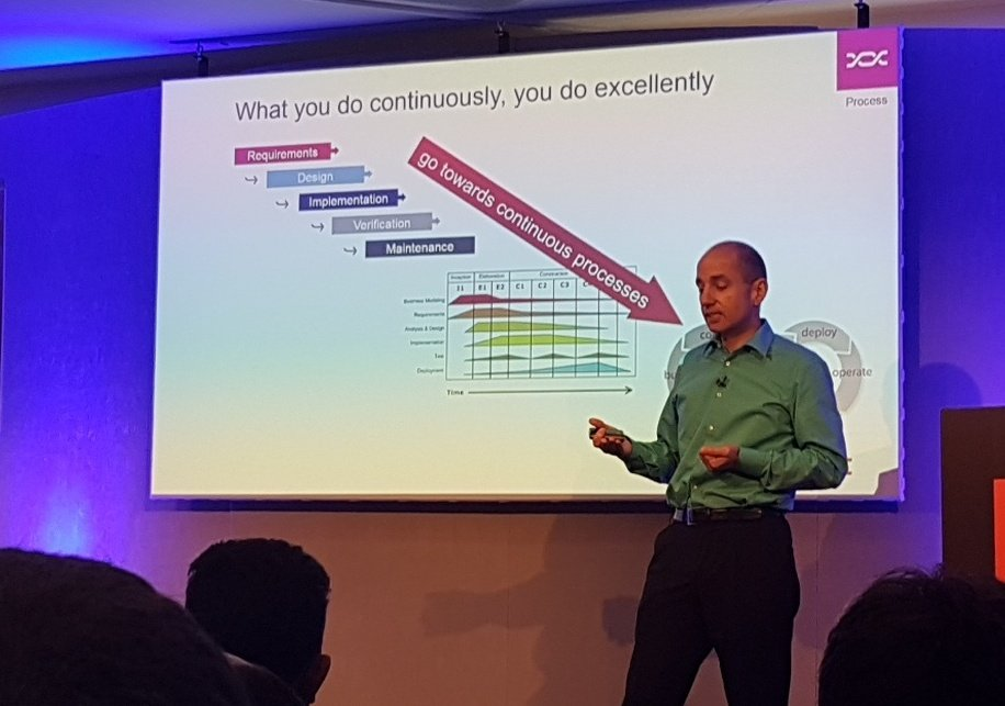 Next up: Six adopts devops #DOES17 - whatever you do continuously, do excellently https://t.co/CLcNHzbUKN