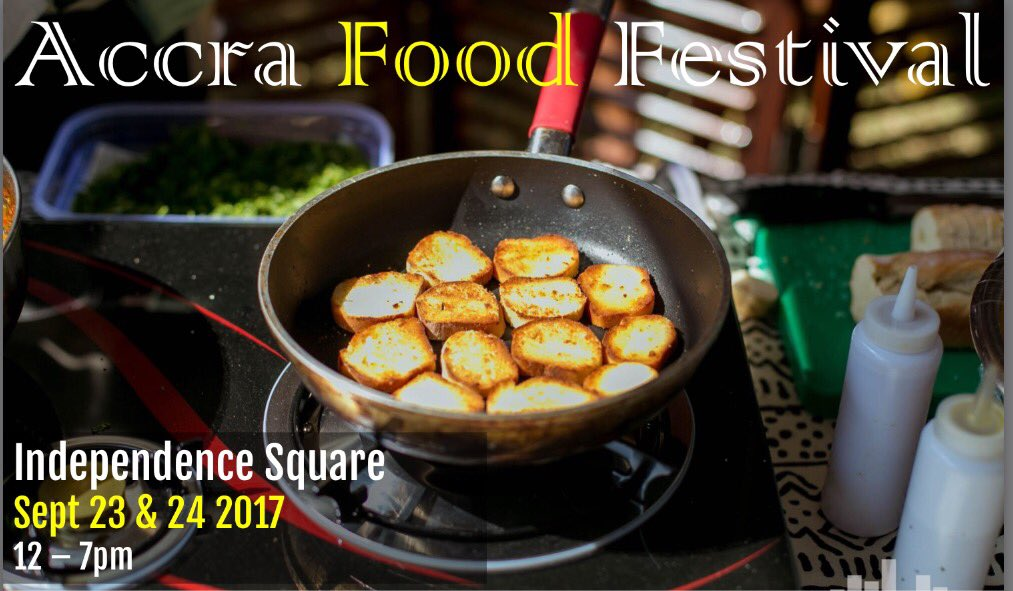 SAVE THE DATE: 23-24 September, Independence Square #AccraFoodFestival https://t.co/dVZhJ0eL6g