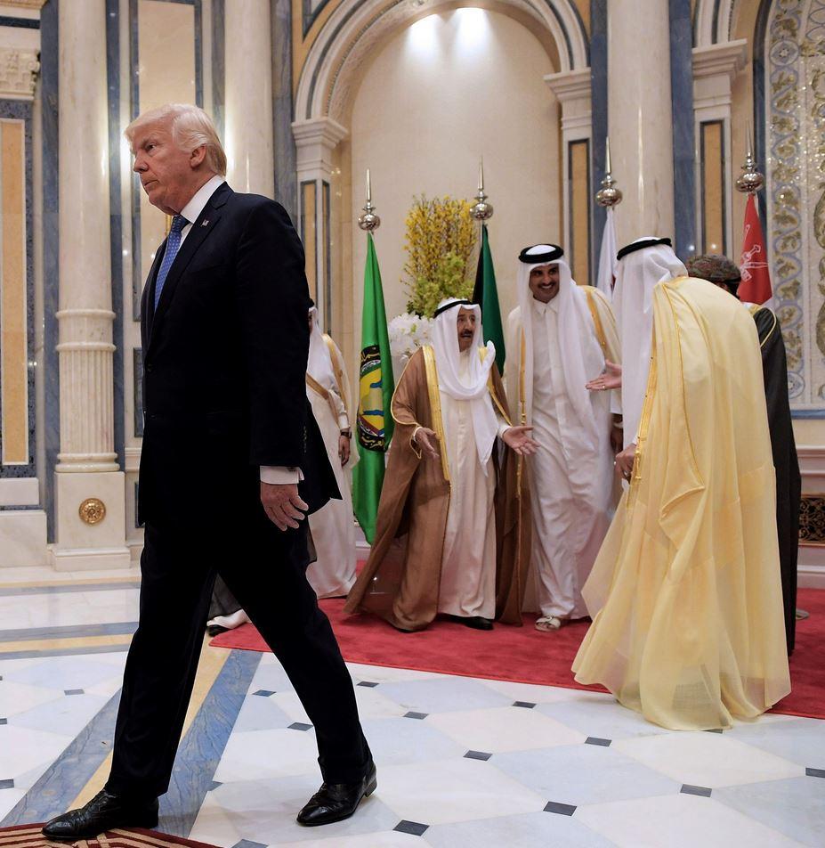 He came He created chaos He left  #قطر #Qatar