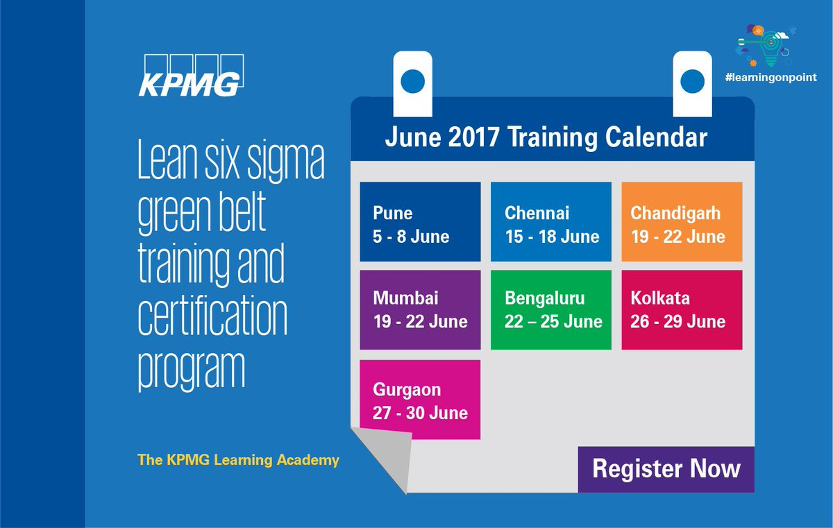 Kpmg India On Twitter Competency Development Program Cdp On Lean