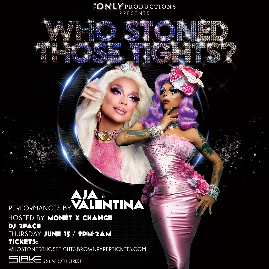 I can't wait to perform with my sister @ajaqueen at @SlakeNYC on 6/15....