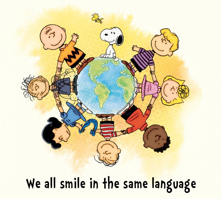 Image result for we all smile in the same language