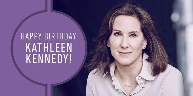 Happy Birthday, Kathleen Kennedy!