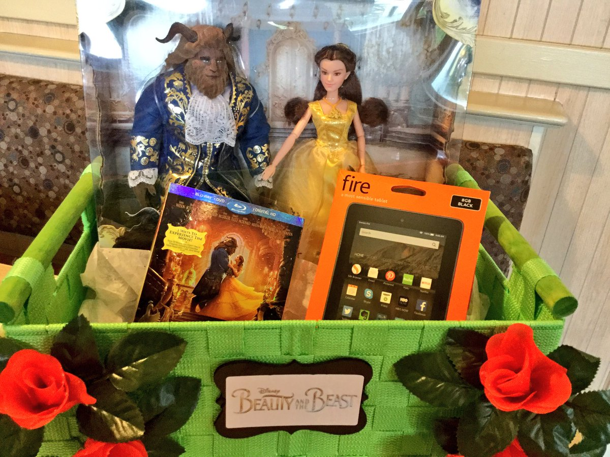 Follow me & Retweet to win this @beourguest prize pack:  Blu-ray, Kindle Fire & Beauty & Beast collectibles! https://t.co/P2ByAuAfpo