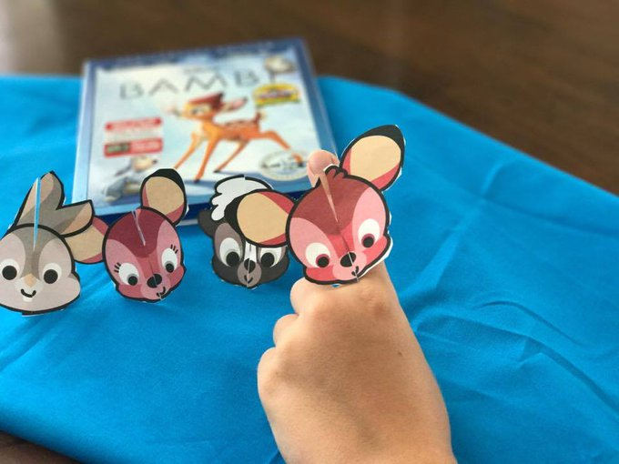 Celebrate Disney BAMBI With A Fun Movie Party Under The Stars #HeartThis