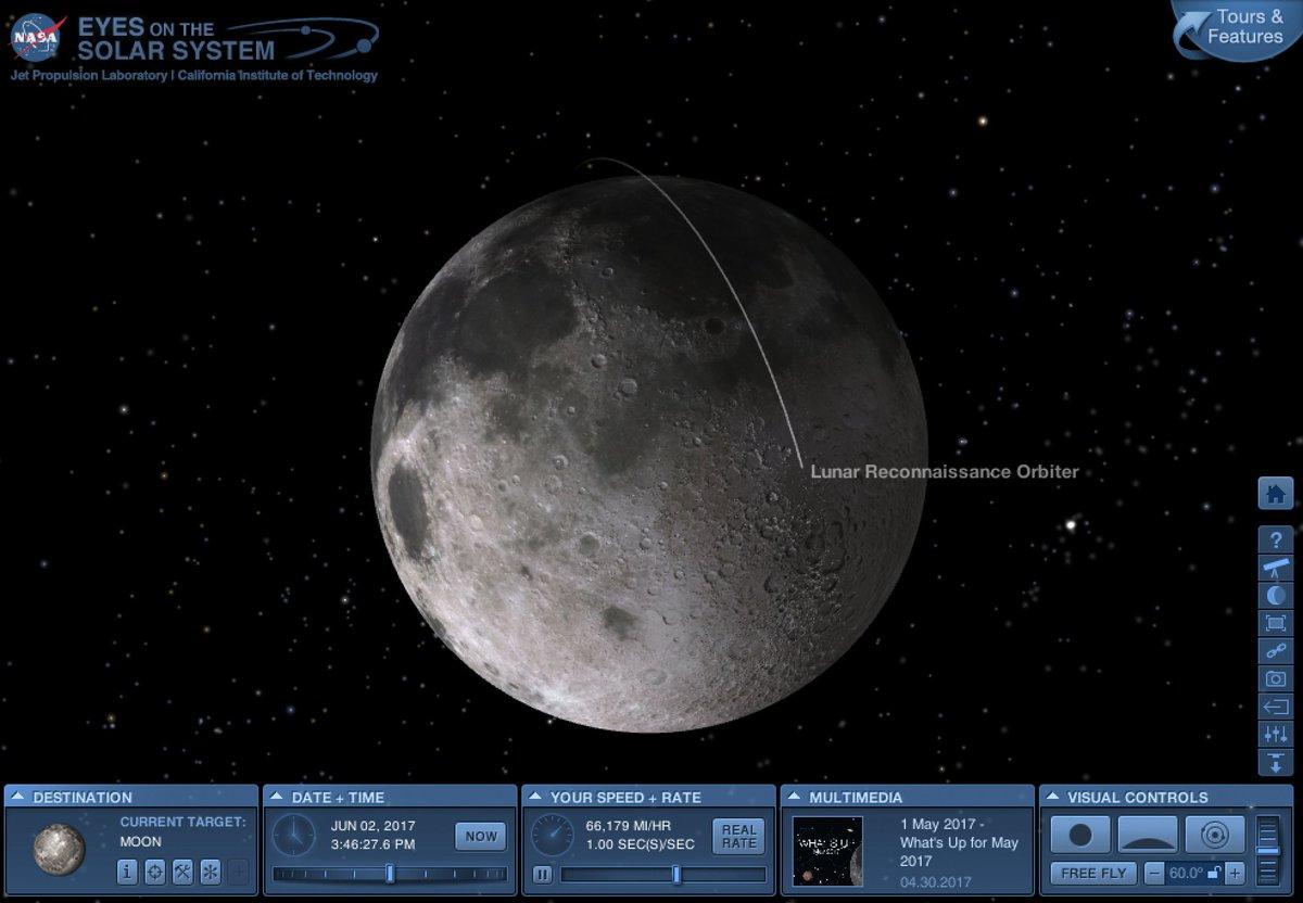 Resultado de imagen para lunar reconnaissance app