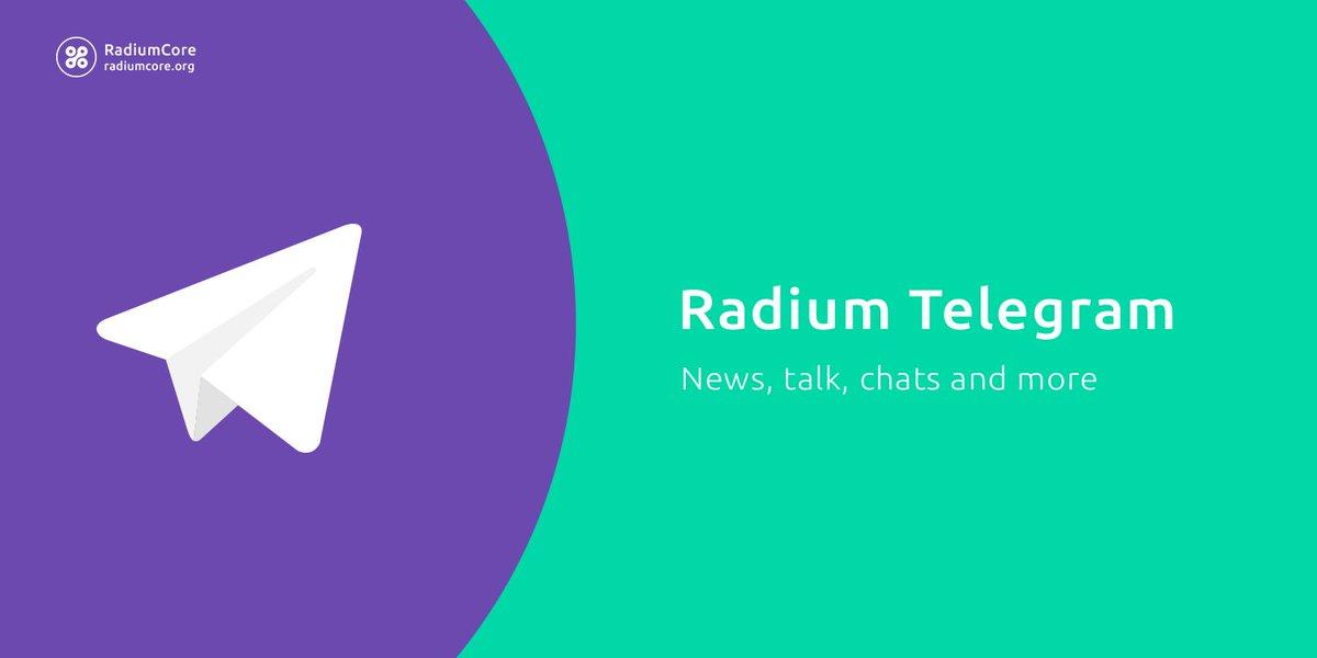 Radium on Twitter:
