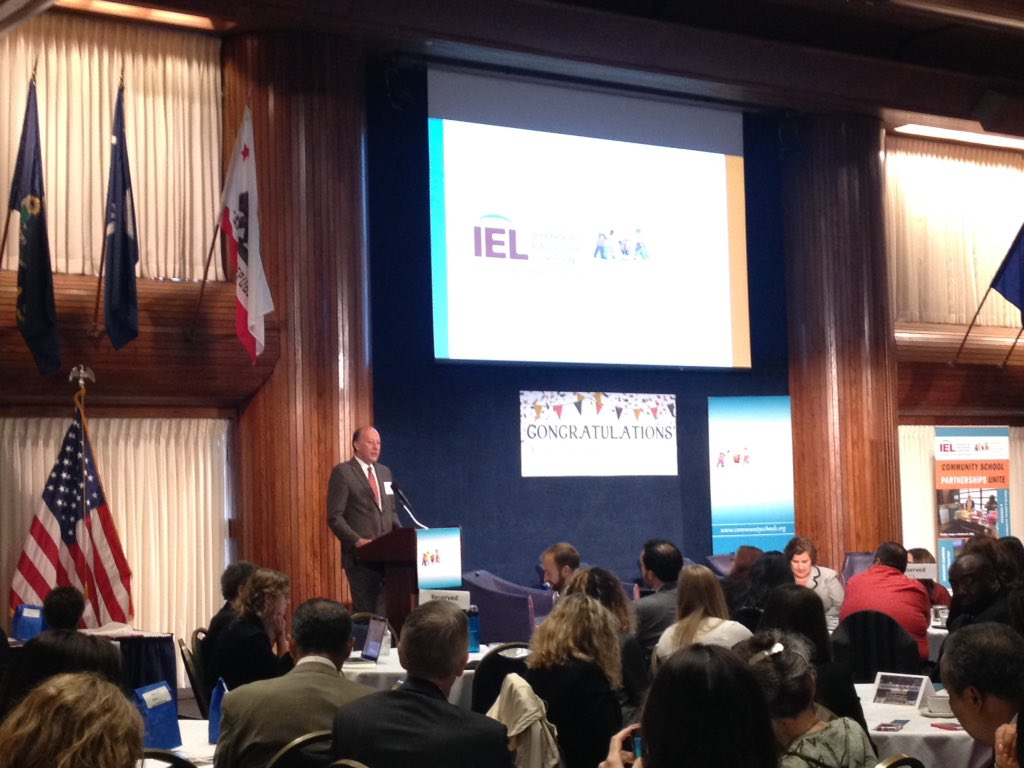Welcome to the Awards for Excellence #communityschools @IELconnects @uvinjo_us congratulations! https://t.co/ElwouKQh1w