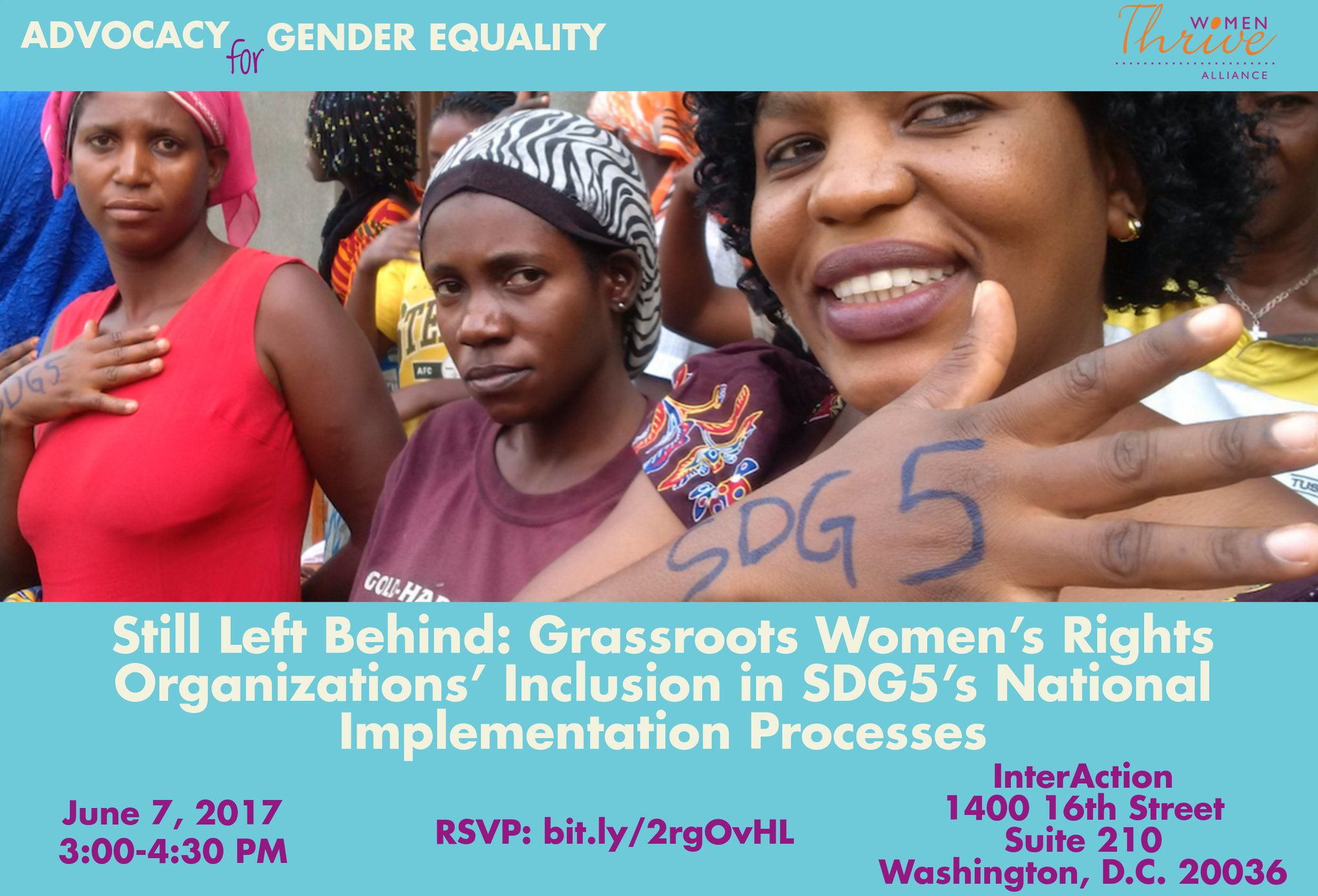 Join us and @WomenThrive on June 7 to discuss how grassroots organizations can take part in national-level policy: https://t.co/qP9QuNpxJr https://t.co/rr42hvMKI6