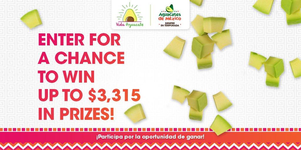 Únete a la celebración de @VidaAguacate #VidaAguacate sorteo #ad Entrada/Reglas https://t.co/1OkH77GynC https://t.co/Yim5G9nICa