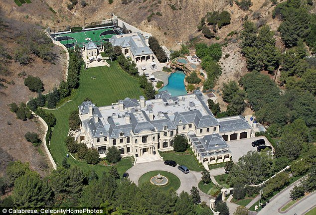 Happy birthday to Mark Wahlberg! Take a look at his stunning Beverly Park mansion...