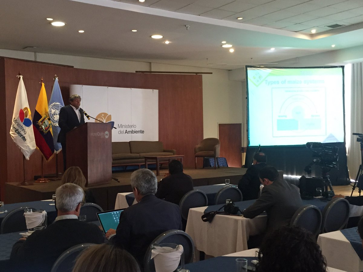 #TEEBAgriFood being presented during #BioEconomía in Quito https://t.co/bCTBd5ZDnZ https://t.co/6EwN07gEOR