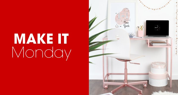 #Project: looking for a quick & effective IKEA hack? Then why not try making your own Rose Gold Vittsjo Desk!  http:// bit.ly/2rWhoMK     <br>http://pic.twitter.com/5LhCWUM1YH