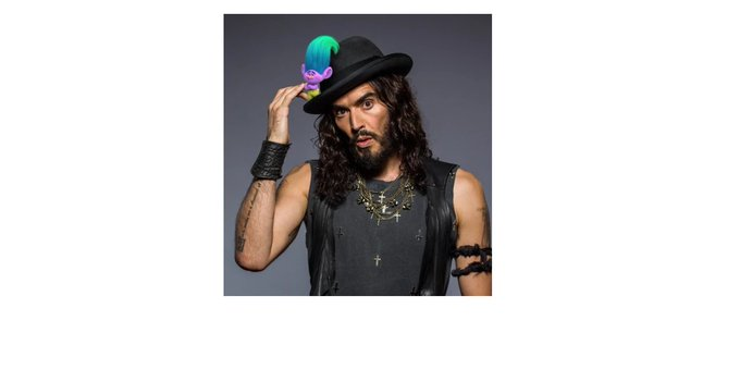 I also would like to wish Happy Birthday to Russell Brand!  - have a nice party & Namaste! !