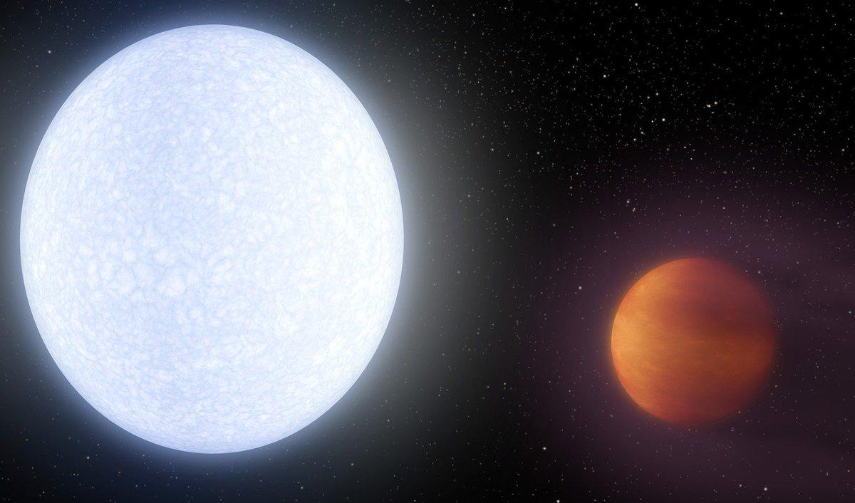 Cientistas descobrem planeta mais quente já encontrado, com 4,3 mil ºC https://t.co/bkI5DNr4hV #G1