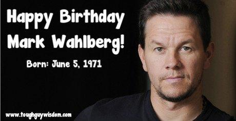 Happy 46th Birthday to Mark Wahlberg!