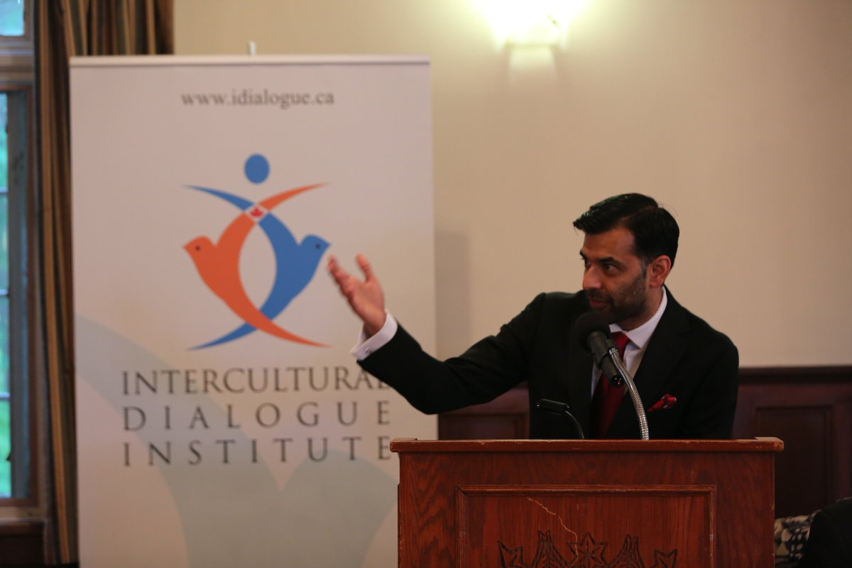 Honoured to have @Zaib_Shaikh as our emcee for  #Ramadan dinner @rcmpg...