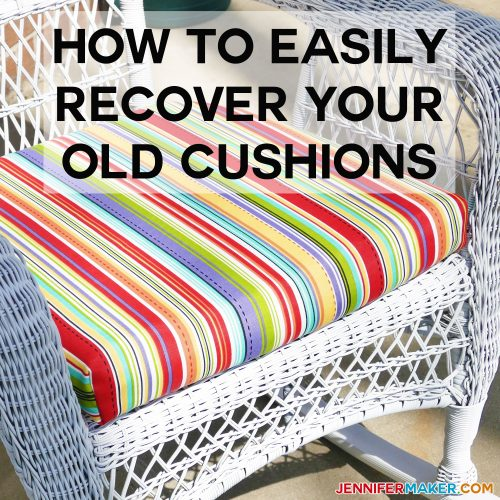 How to Recover Your Outdoor Cushions Quick & Easy