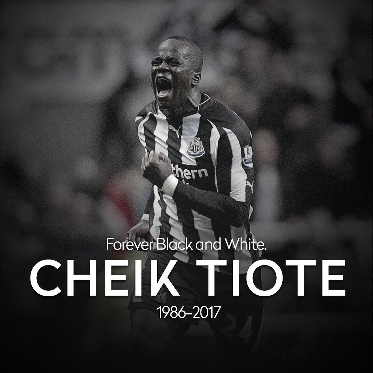 Faleceu hoje o marfinense Cheick Tiote, ex-Newcastle e que estava atuando no futebol chinês. Jogador veio a falecer num treino de sua equipe