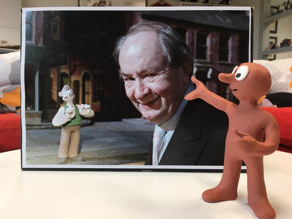 With fond memories of our friend Peter Sallis - a great, generous actor and a true gentleman. https://t.co/MqIxzTXSOp