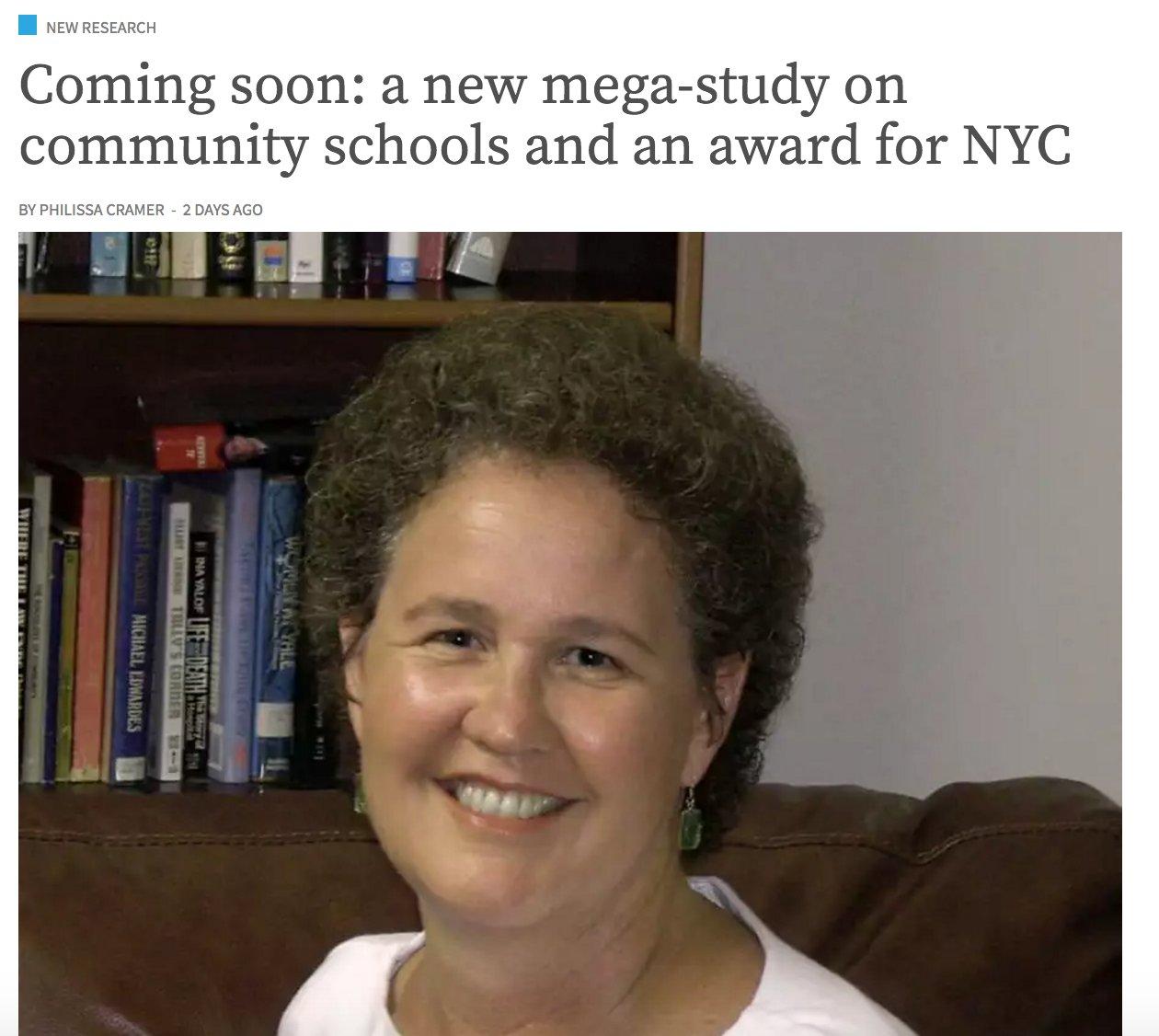Let's nix the suspense & admit Linda Darling-Hammond's study will make #CommunitySchools look just great: https://t.co/MOK9YpPE6u #edreform https://t.co/l2t9q6Po0L