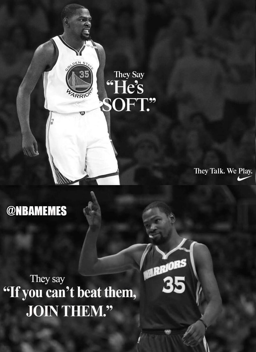 """Kevin Durant Quote Nba Memes On Twitter """"nike Quotes Be Likewarriorsnation"""