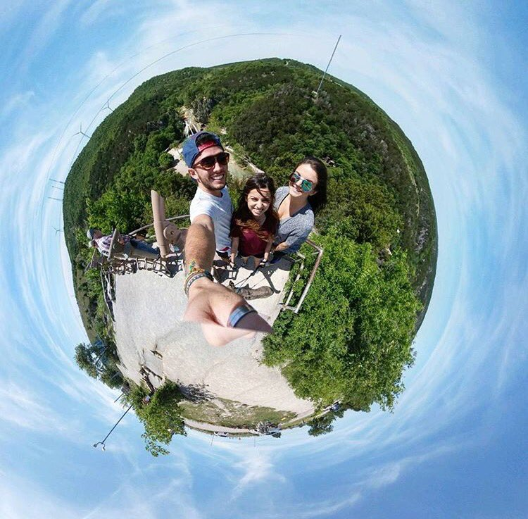 Look deep into nature &amp; then you will understand everything better- Einstein  OKC trip w @alyseesyla  #tinyplanetcouple #tinyplanet#javicel<br>http://pic.twitter.com/p5lWjr0kjW