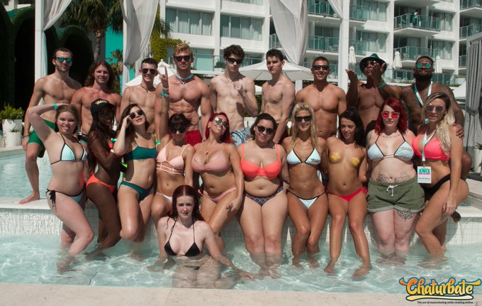 Our #broadcasters make @chaturbate great! Thank you everyone who came out to XBIZ Miami! https://t.c