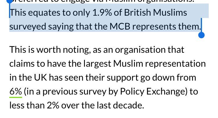 The pro-Islamist (Jamat-e-Islam dominated) Muslim Council of Britain is supported by only 1.9% of British Muslimhttps://t.co/x2ydyLRKcWs