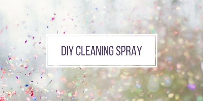 DIY Cleaning Spray
