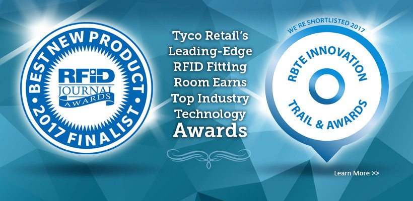 Our innovative leading-edge #RFID fitting room earned top industry awards at #RFIDLIVE &amp; #RBTE2017:  http:// bit.ly/2rI2TZc  &nbsp;  <br>http://pic.twitter.com/id9Ksa0c5Y