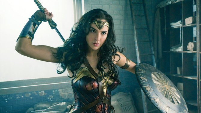 Saw #WonderWoman today and loved it! @GalGadot is fantastic — my kind of superhero!