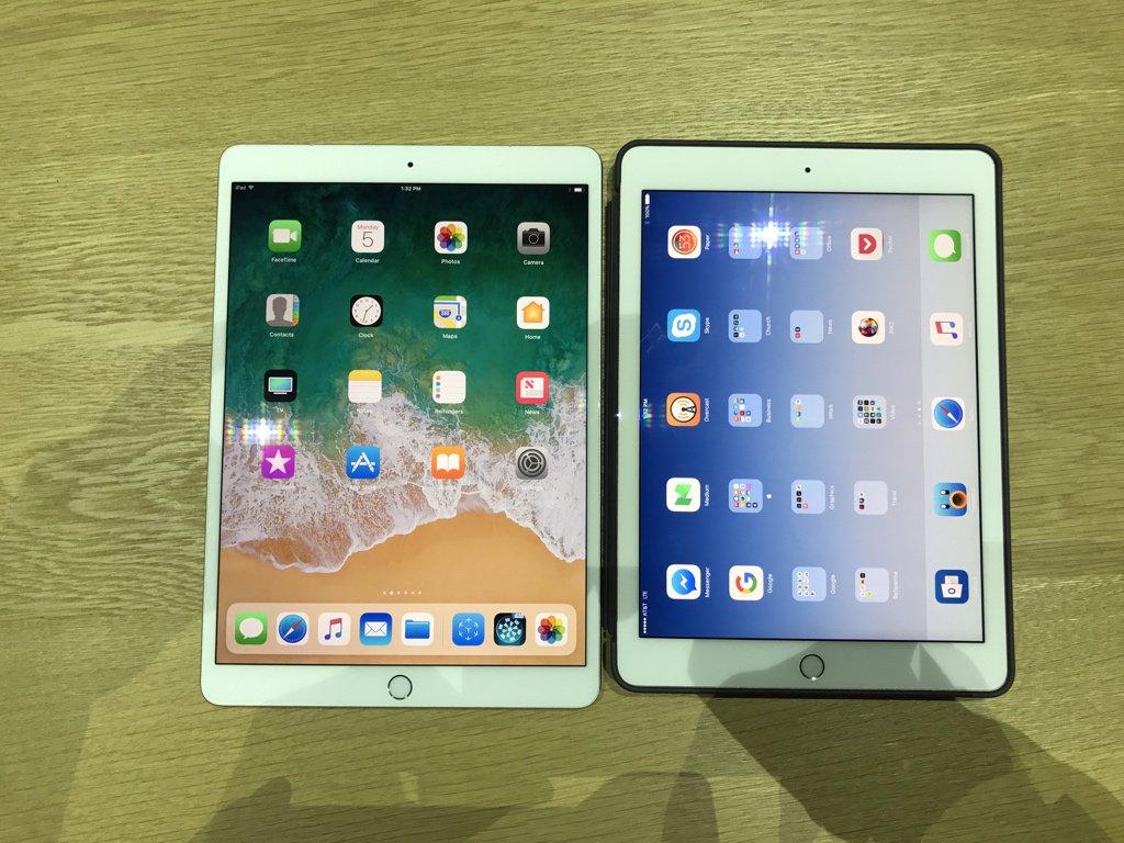jan dawson on twitter another size comparison new ipad pro vs