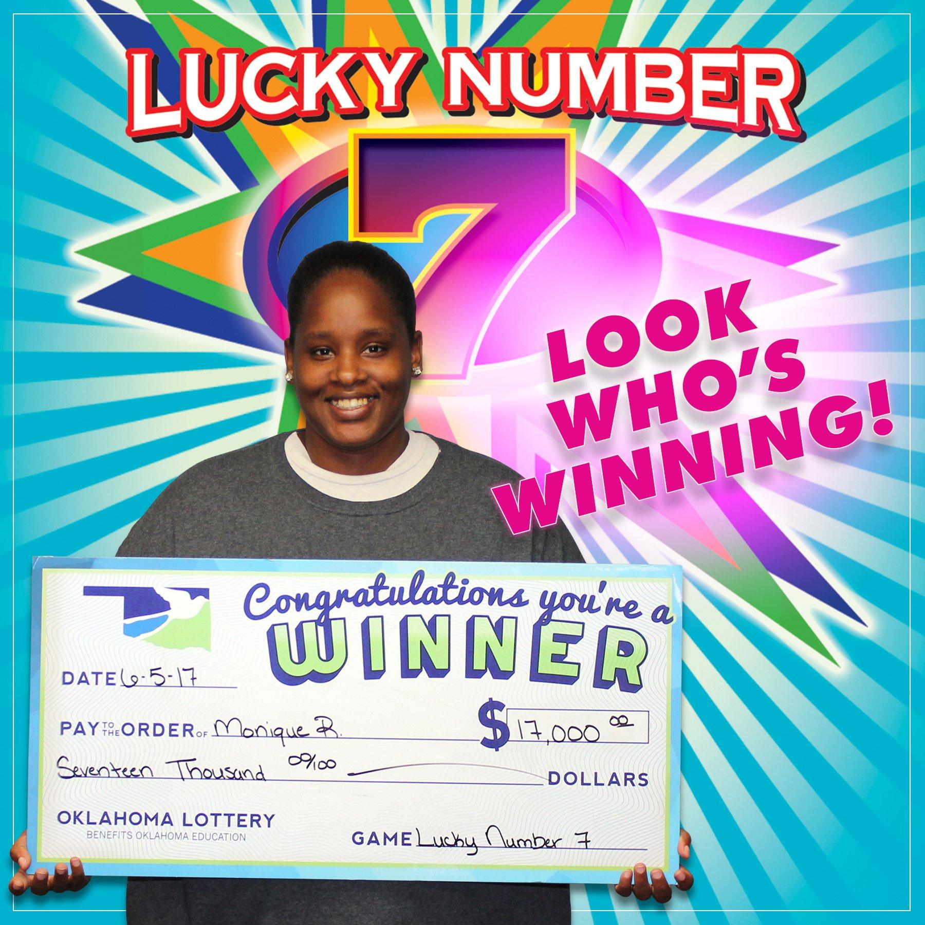 Oklahoma Lottery on Twitter: