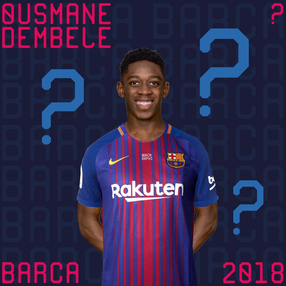 "RAPHI on Twitter ""Ousmane Dembélé to Barca TransferRumors Info"