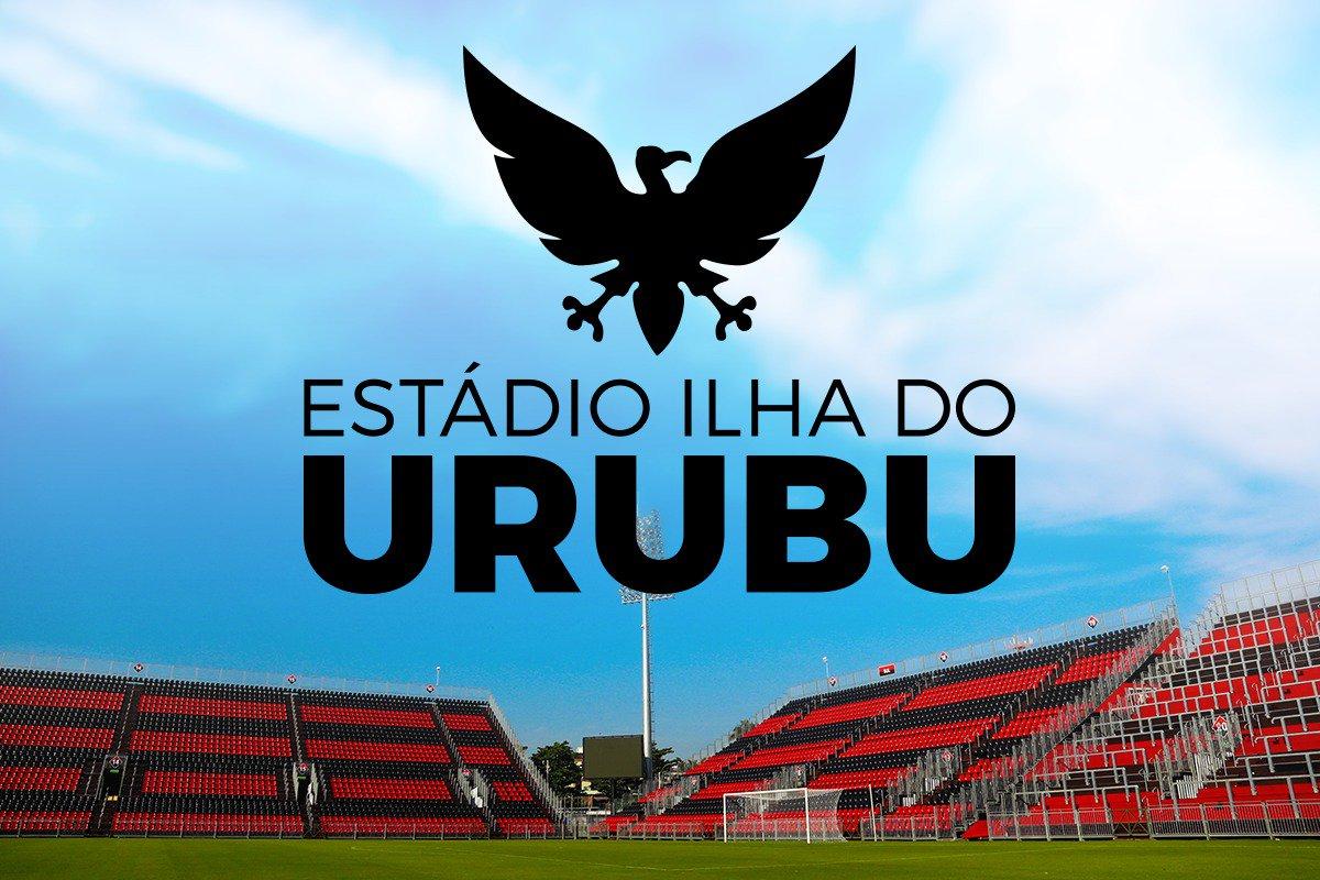 Com 45% dos mais de 61 mil votos, a Nação escolheu 'Estádio Ilha do Urubu' como nome da nova casa rubro-negra #IlhaDoUrubu #VamosFlamengo