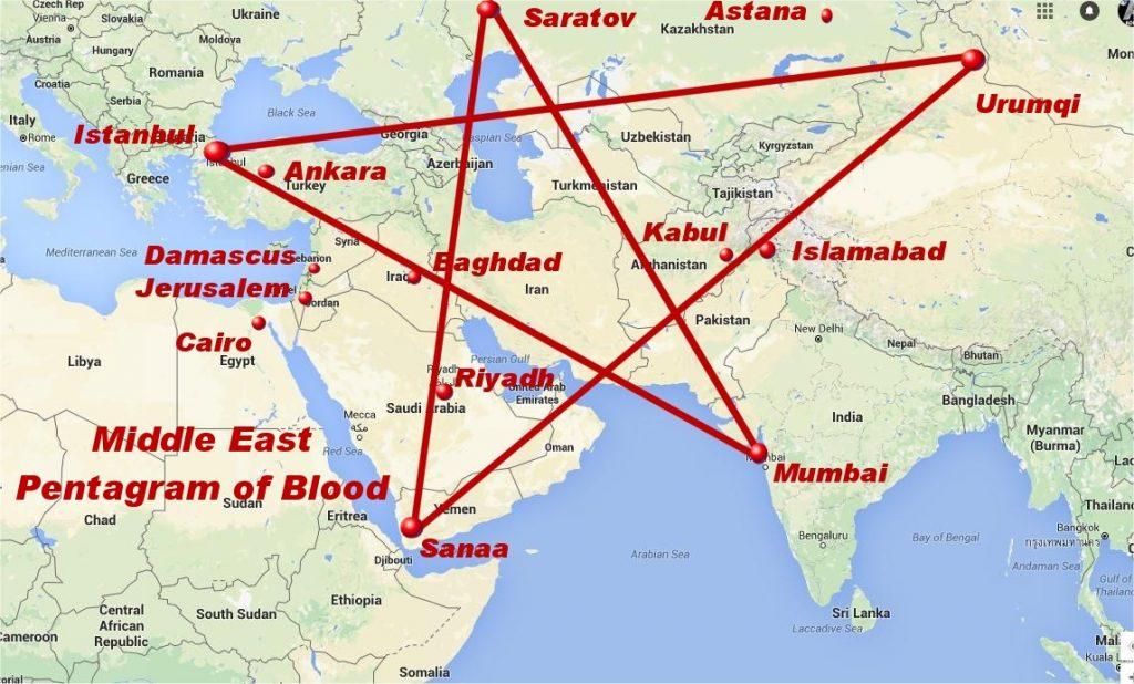 Pentagram Of Blood Pentagramblood Twitter - Pentagram on us map