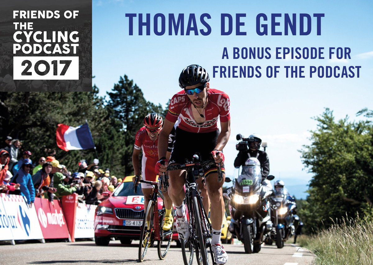 dc5ebb3c68 We spoke to the Belgian breakaway artist for a special episode back in  2017. https   thecyclingpodcast.com project in-conversation-with-thomas-de-gendt  …