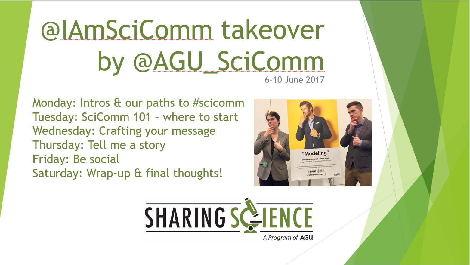 Thumbnail for Sharing Science @iamscicomm takeover!