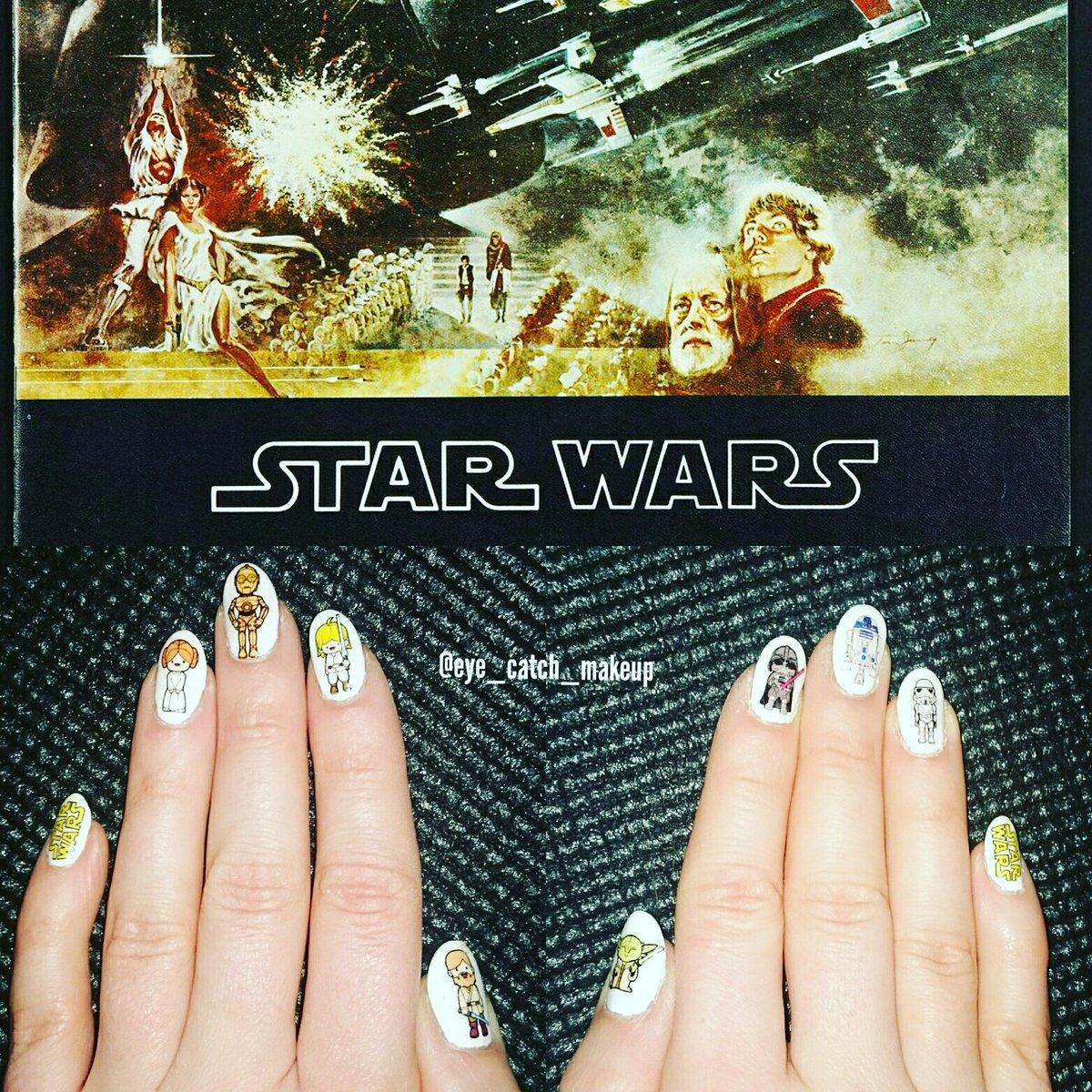 Kinga Gruszczynska On Twitter Nailed Star Wars Nailart